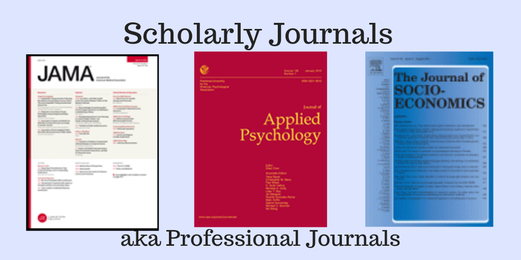 Image of Scholarly Journals