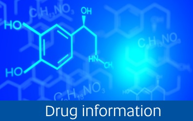 Navigate to the Drug information page