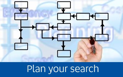Navigate to the Plan your search page
