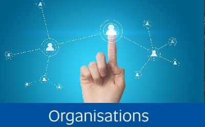 Navigate to the Organisation page