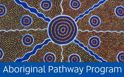Navigate to the Aboriginal Pathway Program page