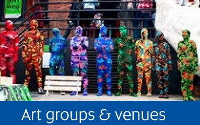 Navigate to Art groups & venues page