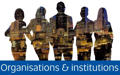 link to information about organisations and institutions