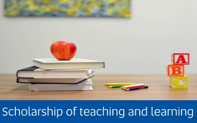 Navigate to the scholarship of teaching and learning page
