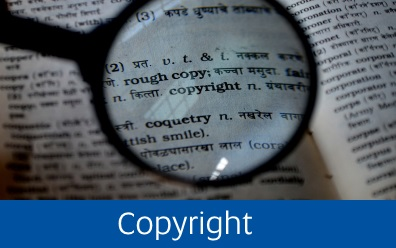 Navigate to the Library's Copyright pages
