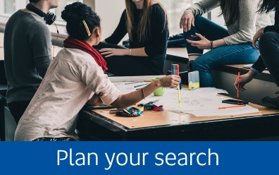 Navigate to Plan your search