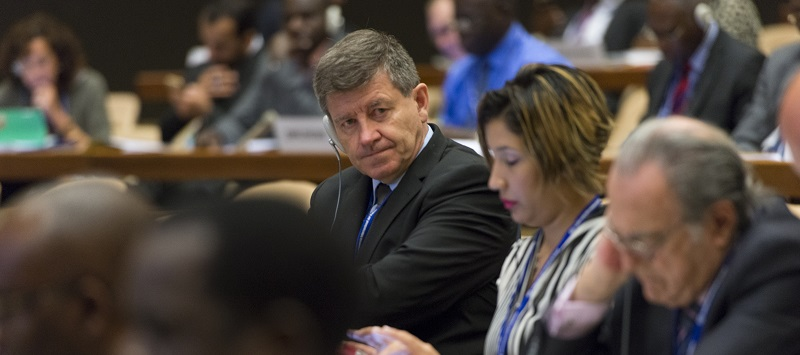 Guy Ryder at Committee meeting; ILO photo 18417531885