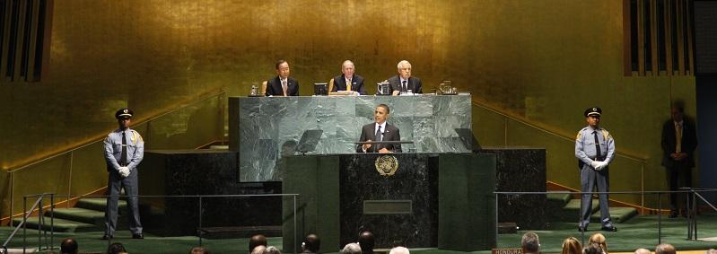 UN Photo 447249: Barack Obama (al centro), Presidente de Estados Unidos de América, dirije la Cumbre de la ONU sobre Objetivos de Desarrollo del Milenio (ODMs) 22 de septiembre de 2010