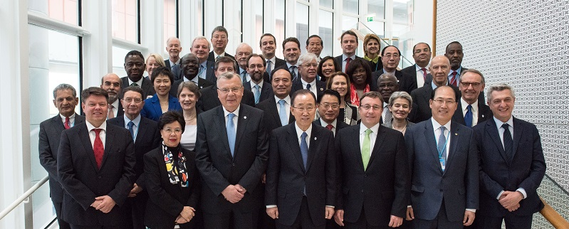 UN Chief Executives Board Meeting 2016; UN Photo 675002