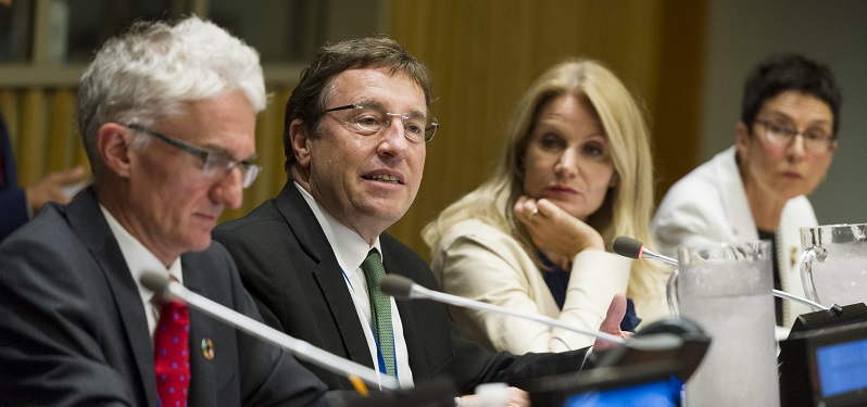 UNDP Administrator Achim Steiner at High-level Event on Famine Response and Prevention, 2017; UN Photo 735111