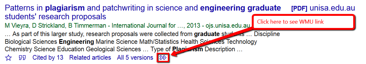 Click here first in Google Scholar