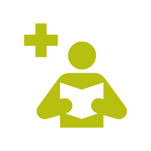 Medical Library Icon