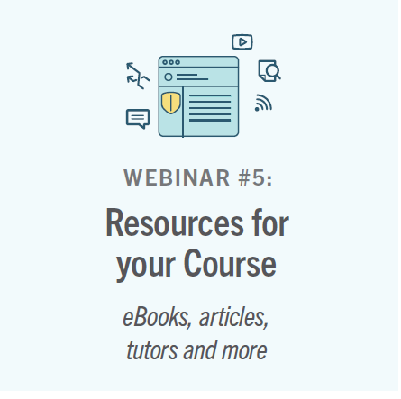 Resources for your Courses