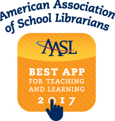 View the American Association of School LIbrarians Best Apps for teaching and learning