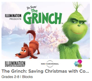 Play The Grinch Saving Christmas with Coding Game