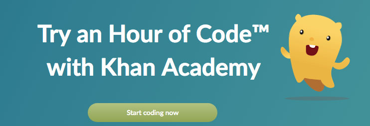 Try an Hour of Code with Khan Academy