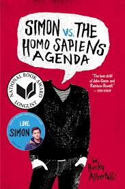 Simon vs the Homo Sapiens Agenda Cover