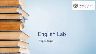 video on prepositions