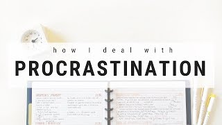 Video on overcoming procrastination