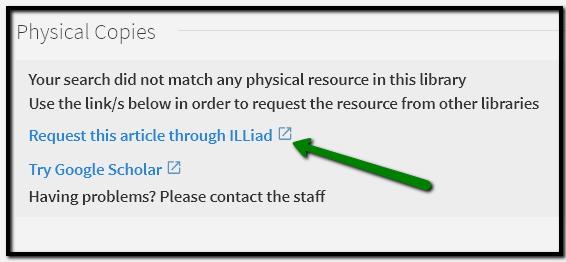ILLiad request pointer