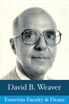 Photo of David B. Weaver
