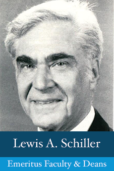 Photo of Lewis A. Schiller
