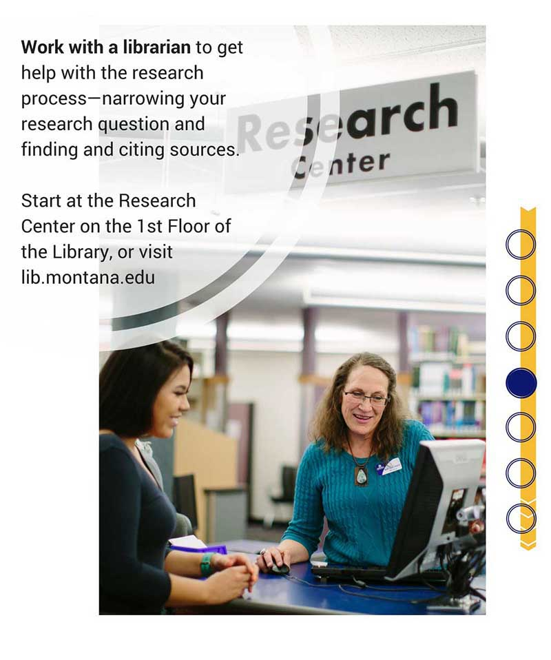 Meet with a Librarian to get help with your research.