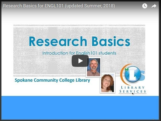 Research Basics video