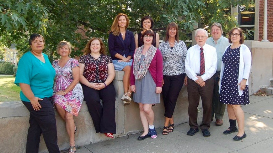 Photo of the library staff Summer 2017
