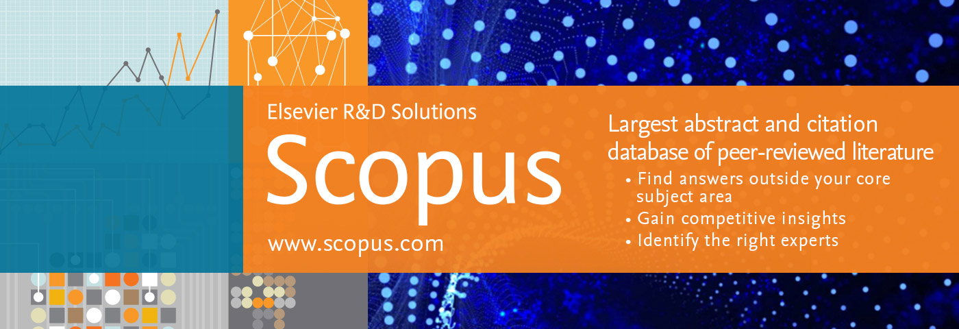 SCOPUS - Largest abstract and citation database of peer reviewed literature