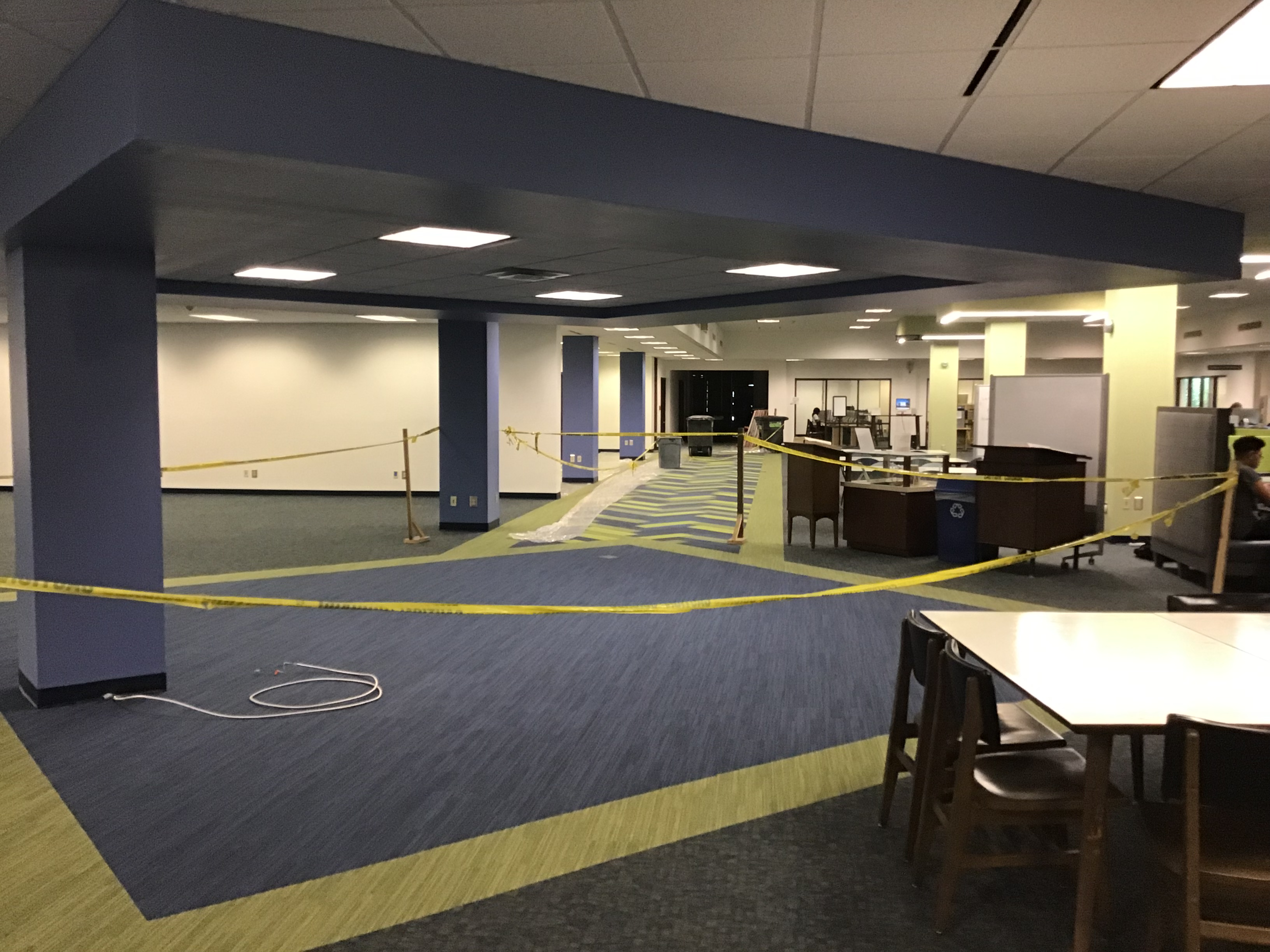 Image site of the new circulation desk