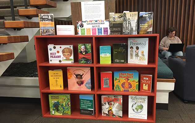 Books in support of Earth and Diversity Week 2019