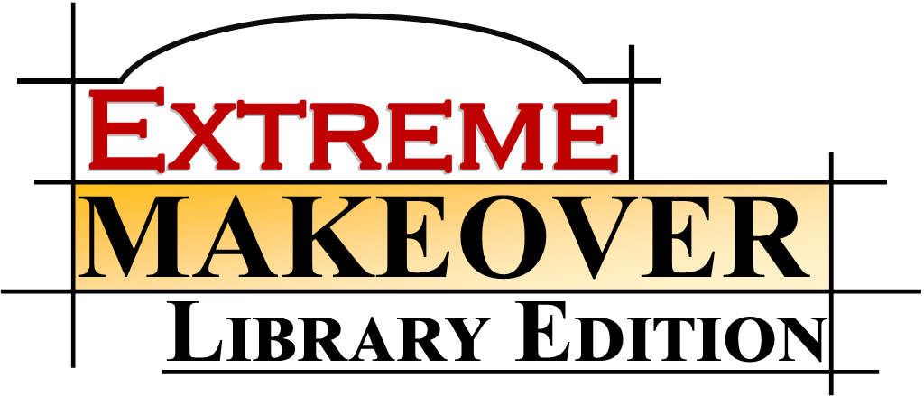 extreme makeover library edition logo