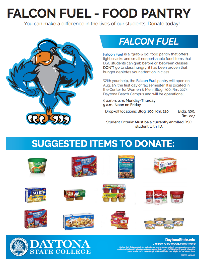 falcon fuel food pantry