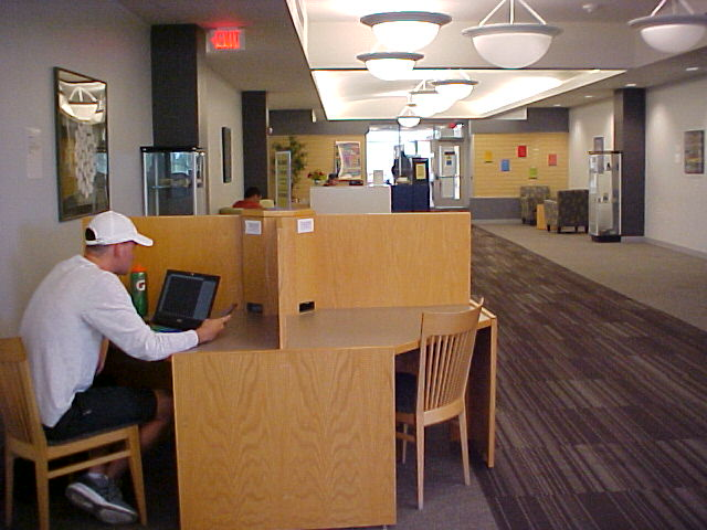 Benedictine Library - 2D Floor Study Zone