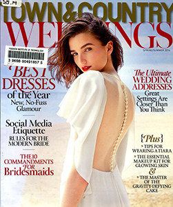 Cover of Town & Country Weddings