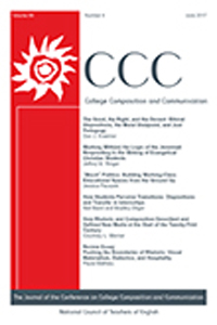 Cover of College Composition and Communication