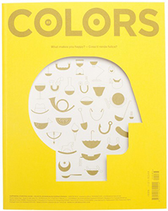 Cover of Colors magazine