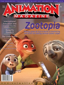 cover of Animation Magazine