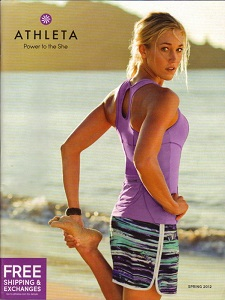 cover of Athleta catalog