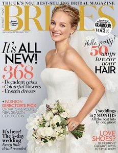 cover of Brides [British] magazine