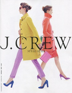 cover of J. Crew catalog