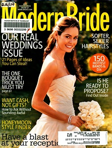 Cover of Modern Bride