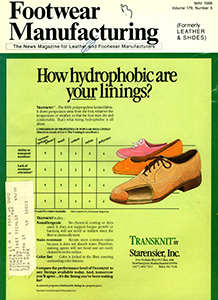 Cover of Footwear Manufacturing