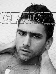 Cover of issue 3 of Crush fanzine