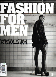 Winter 2016 cover of Fashion for Men