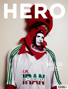 Cover of Hero Magazine