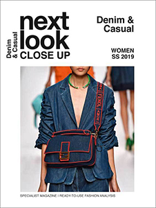 cover of Next Look + Close Up: Denim and Casual magazine