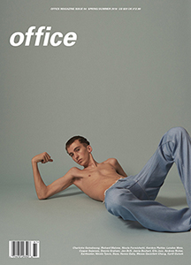 Cover of office magazine