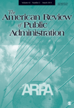 Cover American Review of Public Admin